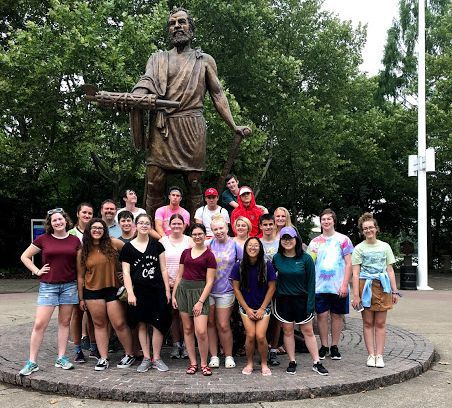 Crown Point Latin Club earns achievements at National Convention 2018