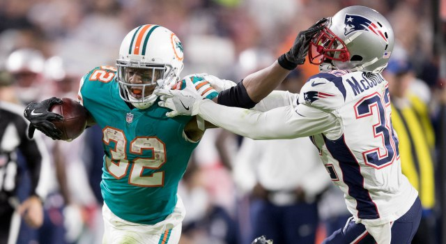 Miami Dolphins' Kalen Ballage experiences highs (and one low)