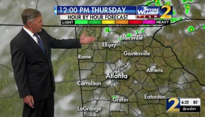 THURSDAY'S WEATHER-TRAFFIC: Sporting events should clog roads as waves of rain hit North …