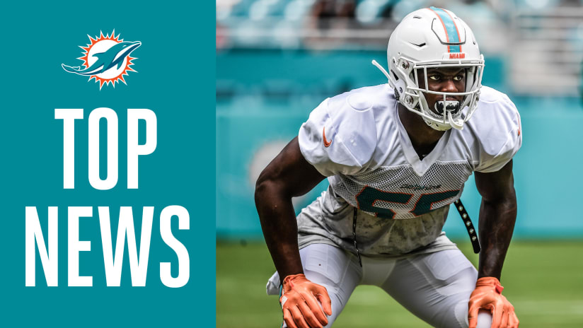 Top News: Two Rookies Work With First-Team Defense
