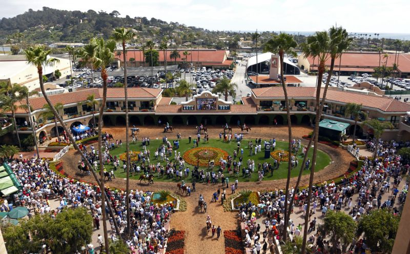 Suspect shot after gunfire at California racetrack
