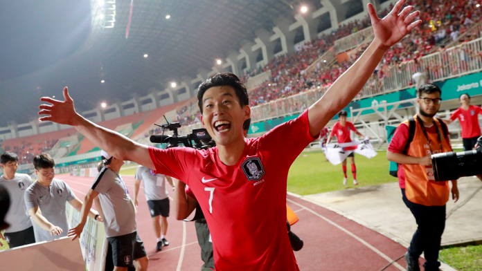 Tottenham's Son avoids military duty with Asian Games gold