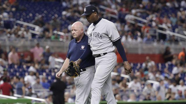 Yankees manager serves 1-game suspension…Thiem beats Anderson…Miami plays LSU at …