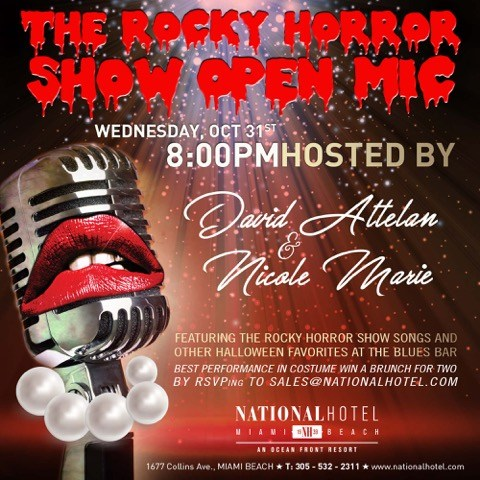 The Rocky Horror Show Open Mic