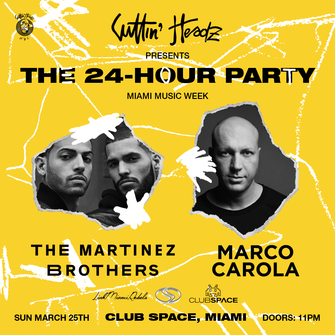 The Martinez Brothers + Marco Carola on the Space Terrace | 24hr MMW Closing Party