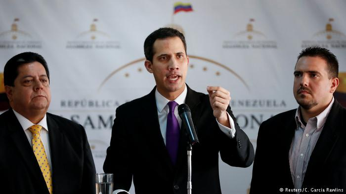 EU states called on to recognize Venezuela opposition leader