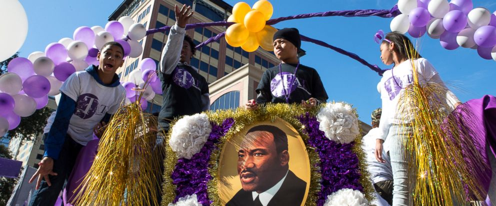 Houston home to rival Martin Luther King Day parades