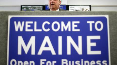 Maine to change 'Open for Business' sign to 'Welcome Home'