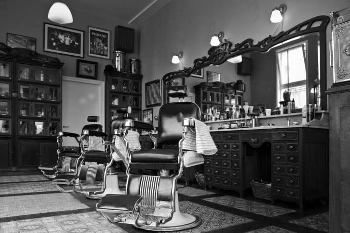 Art event on black barbershops blends hair history, health