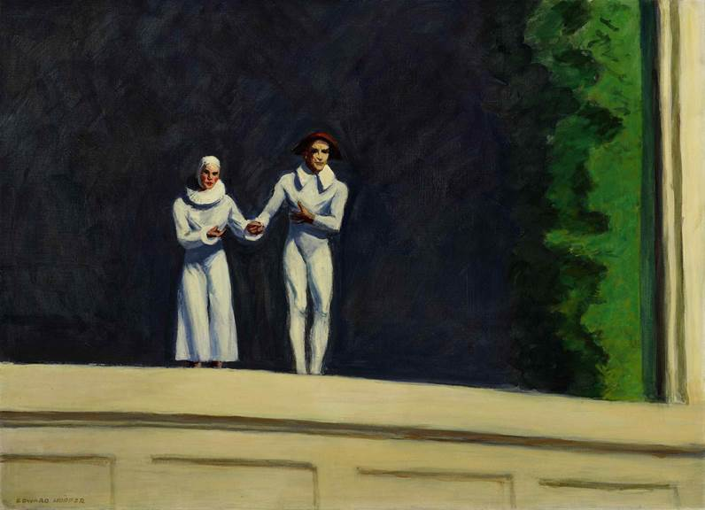 Hopper's final painting on view at the Currier Museum