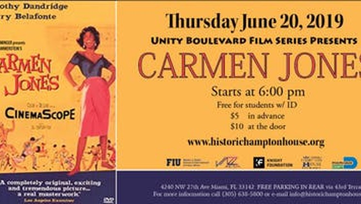 Unity Boulevard Film Series: Carmen Jones