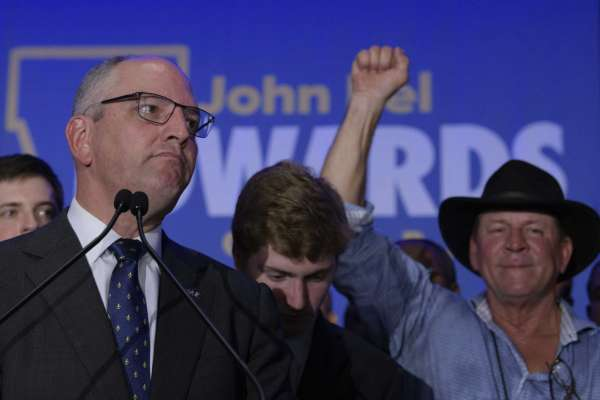 Democrat Edwards wins reelection in conservative Louisiana
