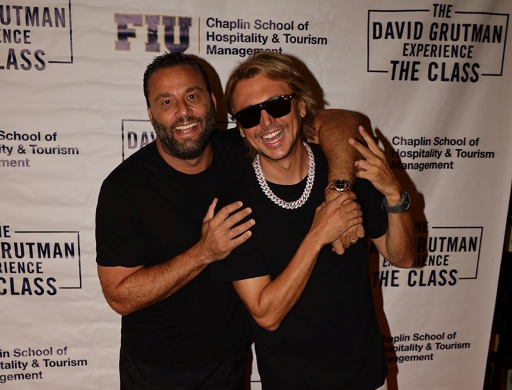 Foodgod Jonathan Cheban Talks Instagram Fame in David Grutman's Entrepreneurship Class