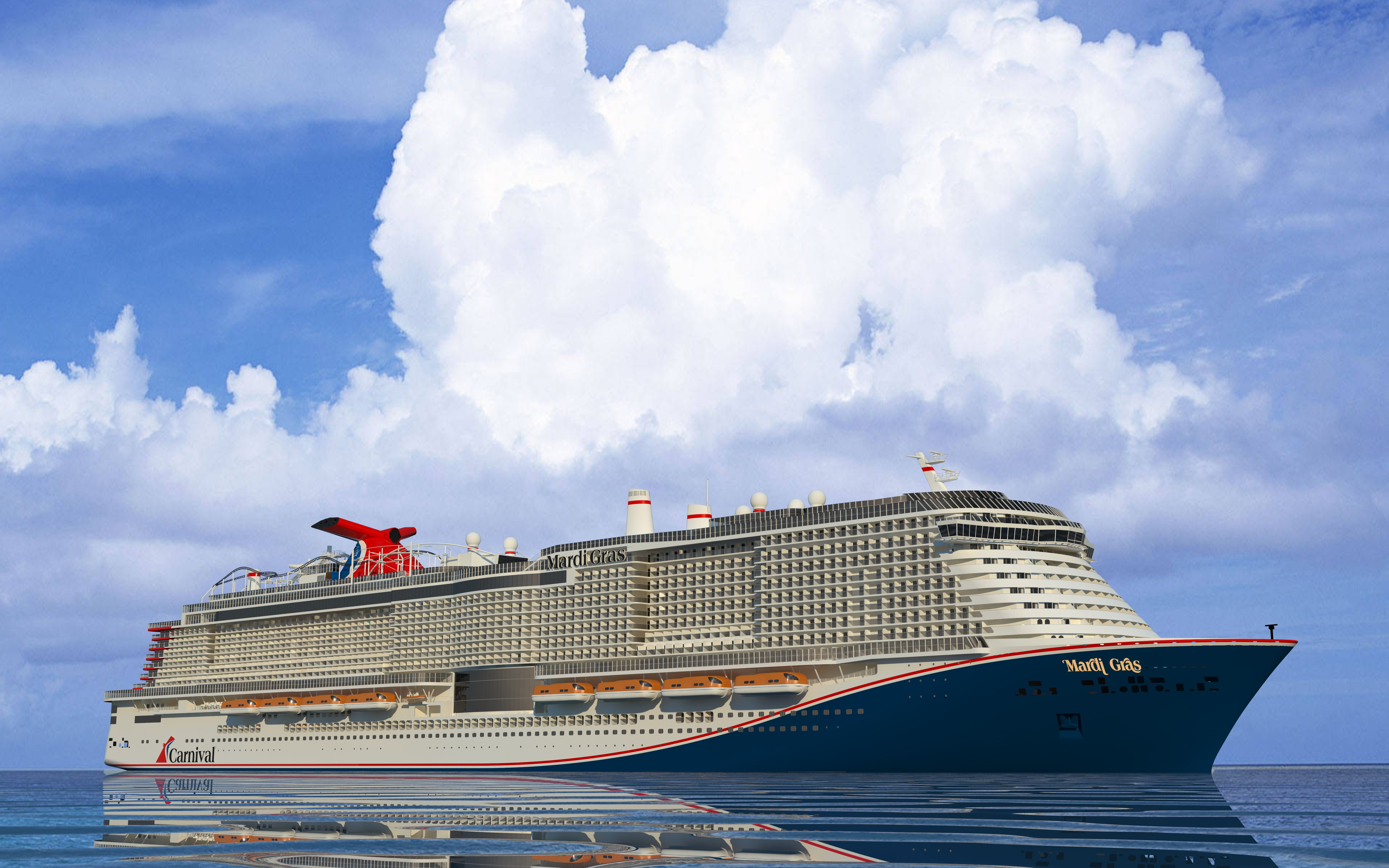 Carnival Mardi Gras cruise ship launch delayed two and a half months to November 2020