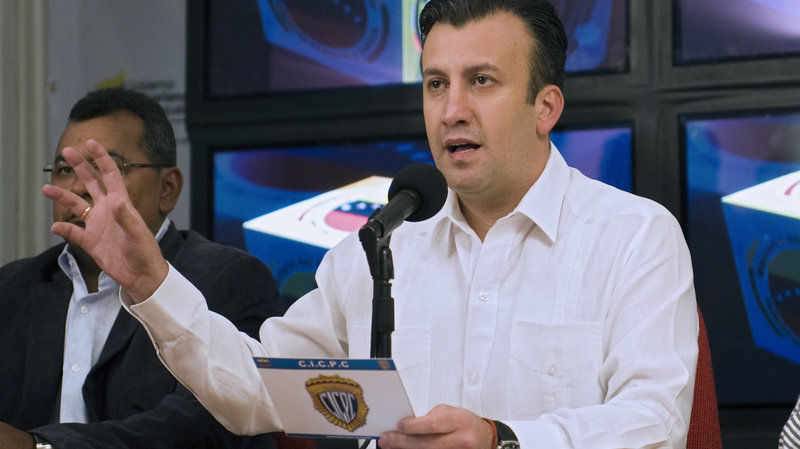 US sanctions Venezuelan vice president on drug trafficking
