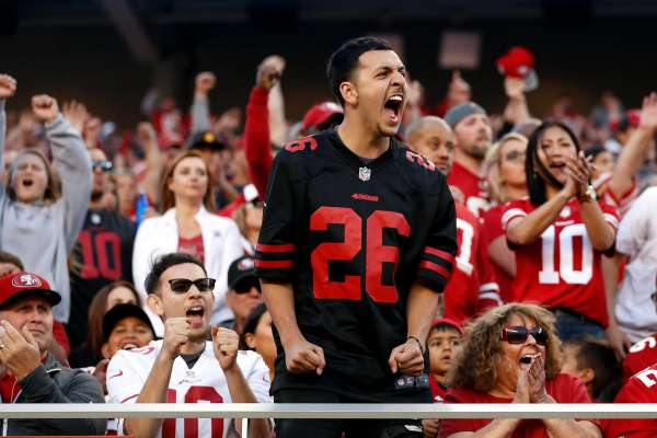 49ers are off to the Super Bowl; local fans very excited