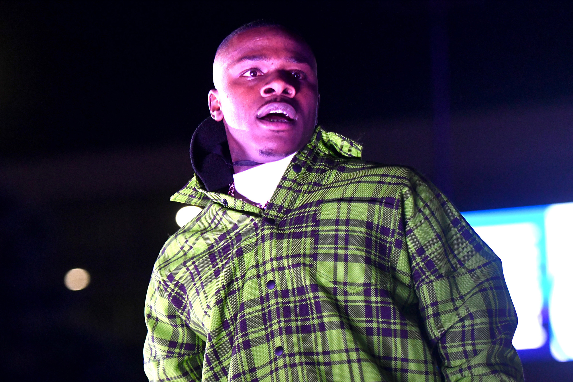DaBaby joins starry Sports Illustrated Super Bowl bash