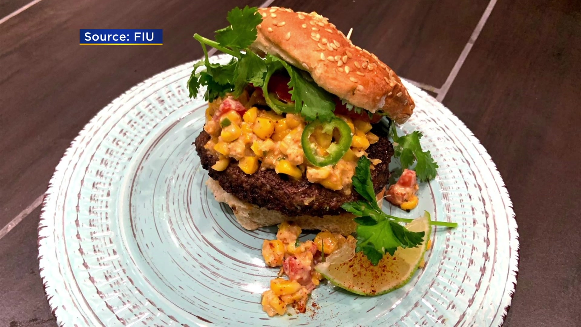 FIU Student Wins Big For Creating Authentic & Unique Burger