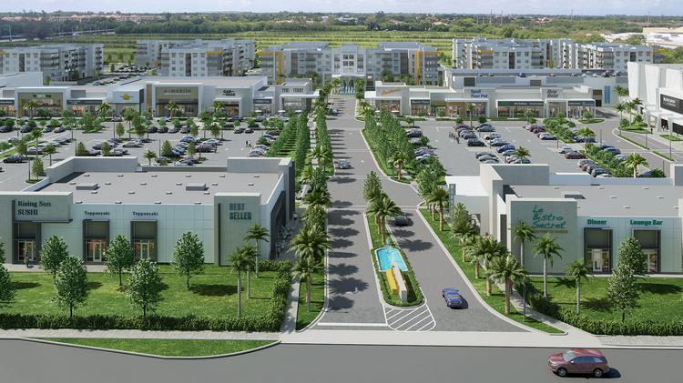 Major mixed-use development announces seven new tenants