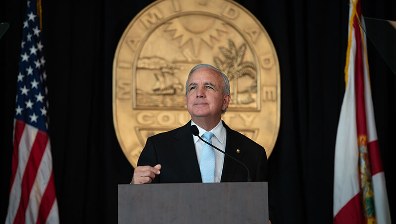 Miami-Dade Mayor Carlos Gimenez Delivers Final 'State Of The County' Address