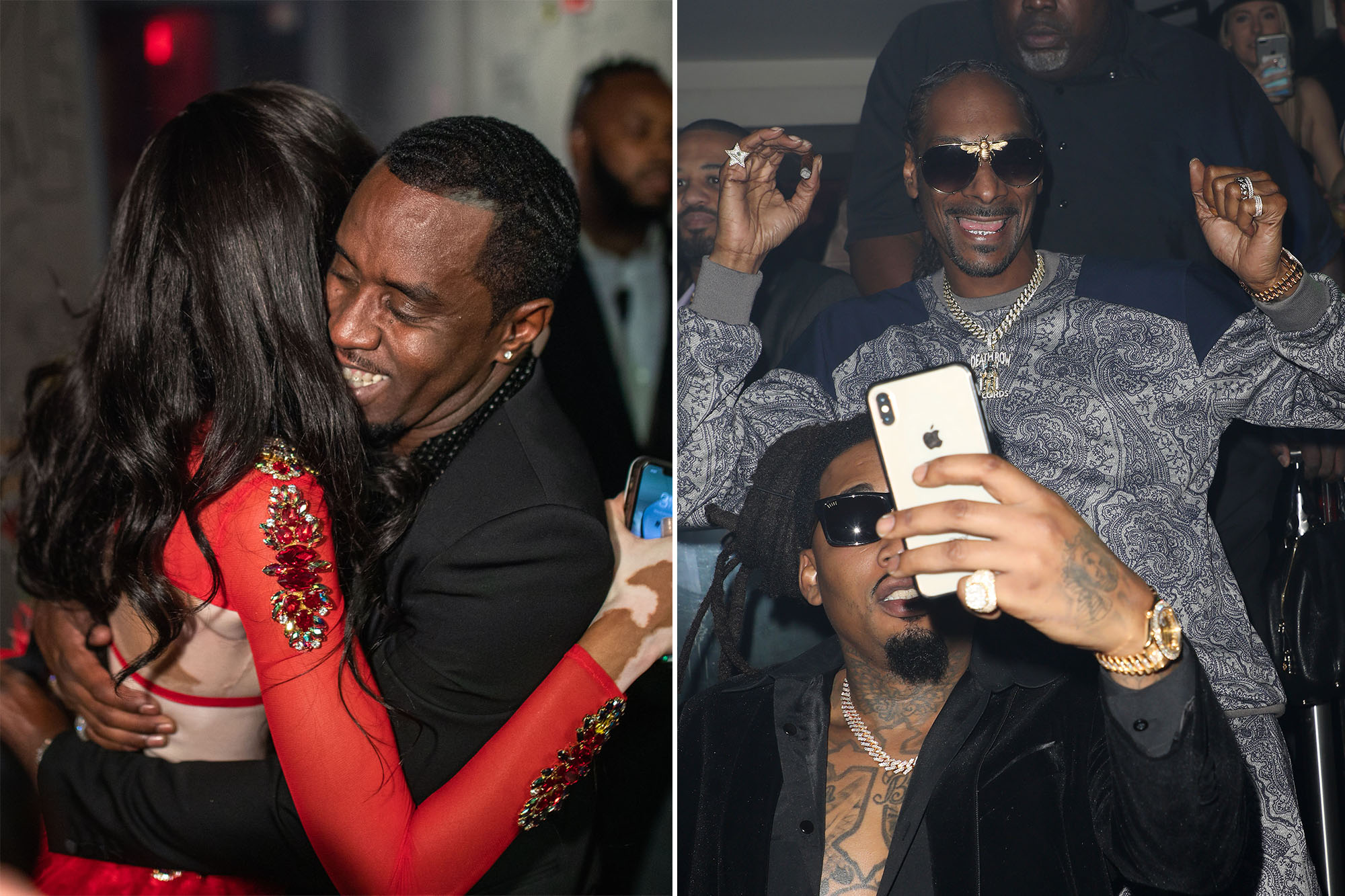 Snoop Dogg, Diddy, Winnie Harlow celebrate New Year's Eve Miami-style