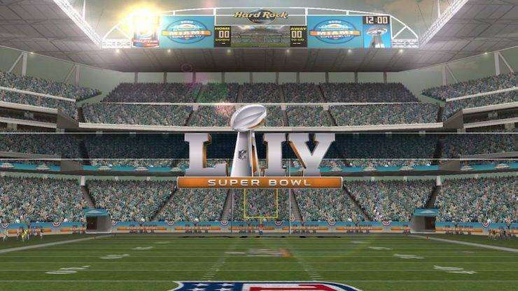 Kickoff Superbowl 2020