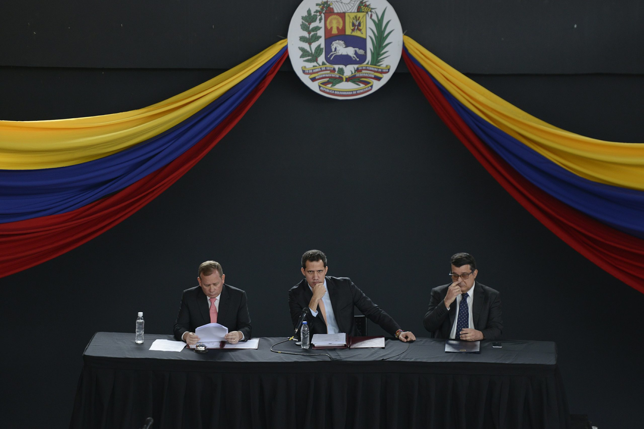 Venezuelan theater becomes Plan B in lawmakers' turf battle