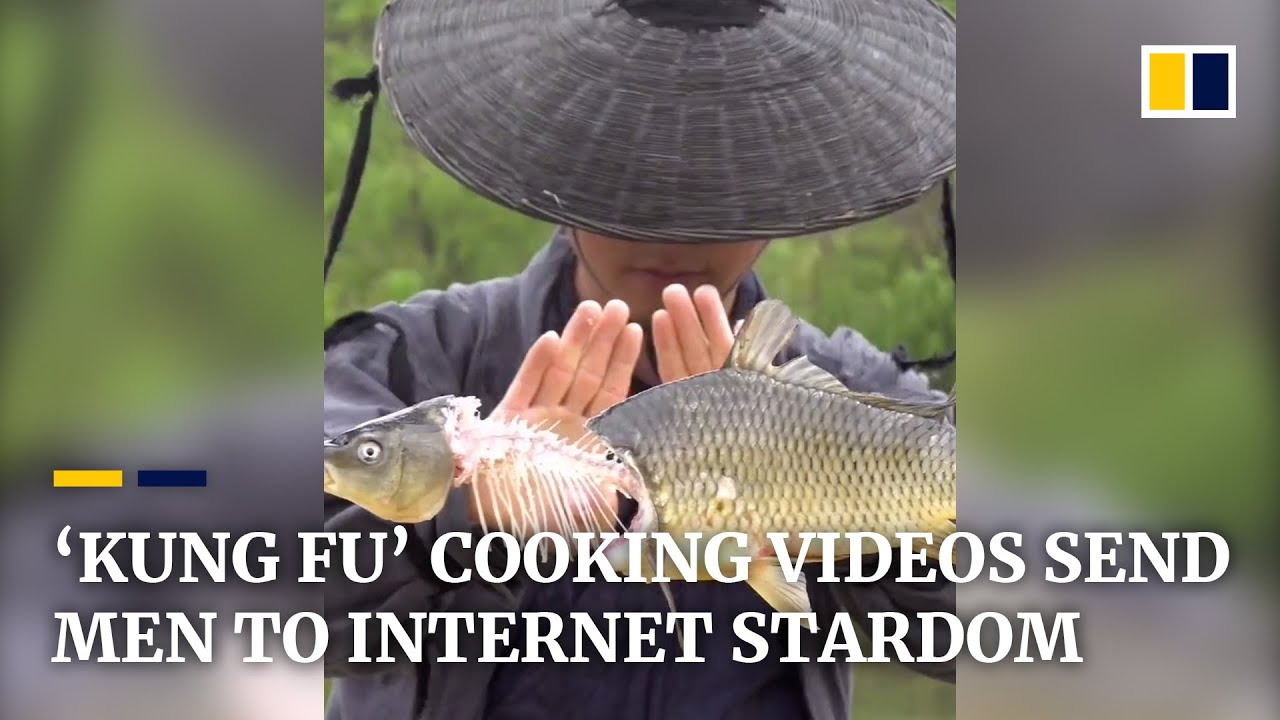 'Kung fu' cooking videos propel men to internet stardom in China