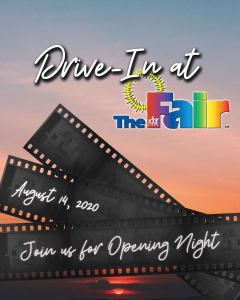 Drive-in with Fair food! Miami-Dade Youth Fairgrounds also a movie venue