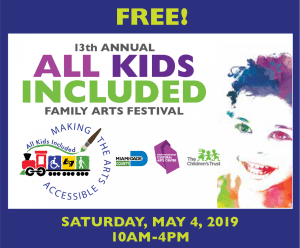 Virtual free All Kids Included Family Festival