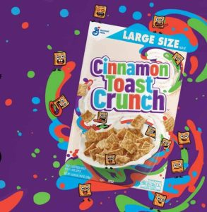 Get free box of General Mills cereal