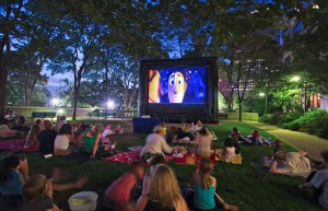 Free and cheap outdoor family movies