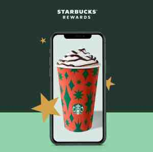 Starbucks offers free drink & gift-card bonus on Cyber Monday