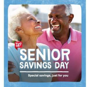 Seniors save 20% at Walgreens